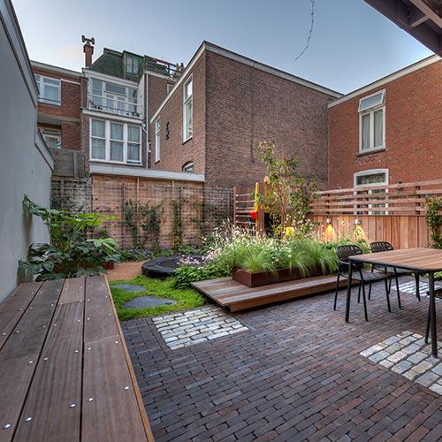 Stadstuin in Den Haag - Allure Tuinen